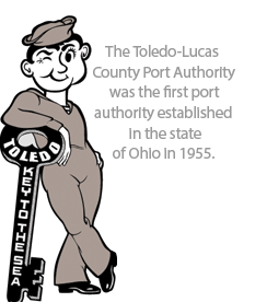 Toledo-Lucas County Port Authority since 1955
